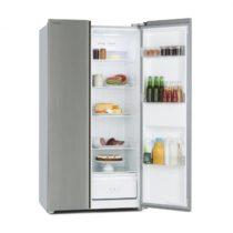 Klarstein Grand Host A, kombinácia chladničky s mrazničkou, základný model, 474 litrov, strieborná