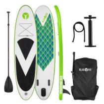 Klarfit Spreestar 320, nafukovací paddleboard, SUP-Board-Set, 320x12x81 cm, zelená farba