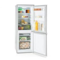 Klarstein Bigpack, kombinovaná chladnička, mraznička, 160 l, A+, 42 dB, strieborná