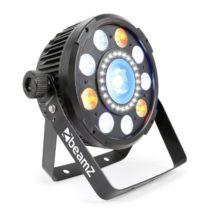 Beamz BX94 PAR 9x6W 4v1 RGBW LEDs, stroboskop s 24 SMD LEDkami, diaľkové ovládanie