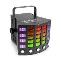 Beamz Gobo Derby, 3-v-1 reflektor, RGBAW/UV LED diódy, 60 W, DMX, samostatná prevádzka, zvukový reži...