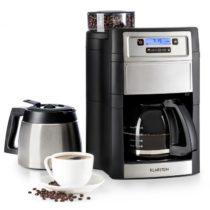 Klarstein Aromatica II Duo, kávovar, integrovaný mlynček, 1.25 l, strieborný