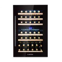 Klarstein Vinsider 35D Onyx Edition, vstavaná vinotéka, trieda energetickej účinnosti C