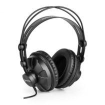 Auna HR-580, štúdiové slúchadlá, over-ear slúchadlá, uzavreté, čierne