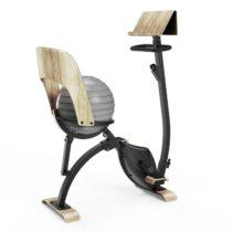 Klarfit Roomik Cycle, domáci trenažér, 8 kg zotrvačník, držiak na tablet, gymnastická lopta