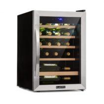 Klarstein Vinamour 19, vinotéka, 19 fliaš, 65 l, 4 - 18 °C, 39 dB, sklo, čierna