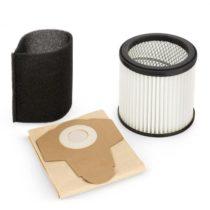 Waldbeck Lakeside Power, filtračná sada, papierové filtračné vrecko, motorový filter a penový filter...