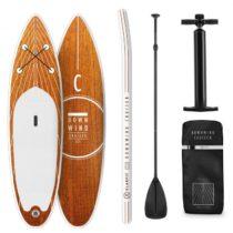 Klarfit Downwind Runner, nafukovací paddleboard, SUP-Board-Set, 305 x 10 x 77 cm