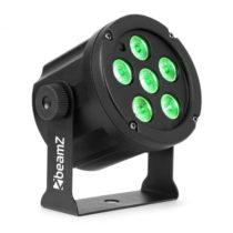Beamz SlimPar 30, LED reflektor, 6 x 3 W 3 v 1 RGB LED diódy, diaľkový ovládač, čierny