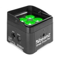 Beamz TP 46 Truss Par, uplight reflektor, 4 x 4 W 4 v 1 LED dióda, RGB-UV, 9 DMX kanálov