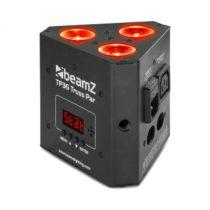Beamz TP 36 Truss Par, uplight reflektor, 3 x 4 W 4 v 1 LED dióda, RGB-UV, LED displej
