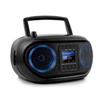 Auna Roadie Smart, boombox, internetové rádio, DAB/DAB+, FM, CD prehrávač, LED, WiFi, bluetooth