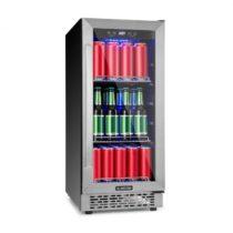 Klarstein Beerlager 88, chladnička na nápoje, 88 l, 33 fliaš, energetická trieda A, ušľachtilá oceľ,...