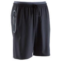 KIPSTA Futbalové šortky F500z čierne