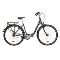 BTWIN Mestský Bicykel Elops 900 Sivý