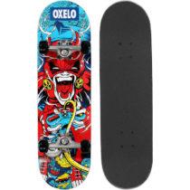 OXELO Skateboard Mid100 Gamer