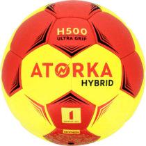 ATORKA Lopta H500 V1 červeno-žltá