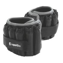 Nastaviteľné členkové závažia inSPORTline Ankler X 2x2,25 kg
