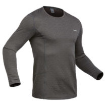 WEDZE Pánske Spodné Tričko 500 Sivé