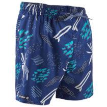 OLAIAN šortky 100 Popfloral Modré
