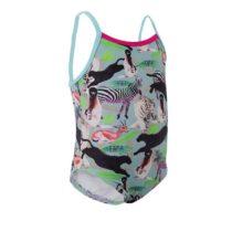 NABAIJI Dievčenské plavky s potlačou