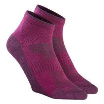 QUECHUA Ponožky Nh100 Mid 2 Páry
