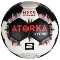 ATORKA Lopta H500 V2 čierno-biela