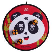 CANAVERAL Terč Na šípky Scratch Panda