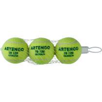 ARTENGO Tenisové Loptičky Tb120 3 Ks