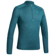 QUECHUA Pánske Tričko Mh550 Modré