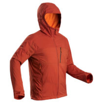 FORCLAZ Pánska Bunda Trek 900 Windwarm