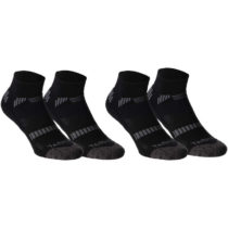 TARMAK Ponožky So500 Low*2 čierny