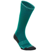 WEDZE Lyžiarske Ponožky 100 Zelené