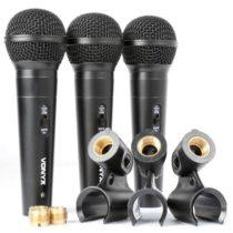 Vonyx VX1800S, sada dynamických mikrofónov