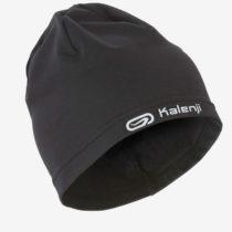 KALENJI Bežecká čiapka Warm+ čierna