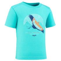 QUECHUA Detské Tričko Mh100 Modré