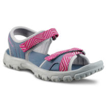 QUECHUA Sandále Mh100 Tw Modro-ružové