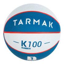 TARMAK Lopta K100 Bielo-modrá