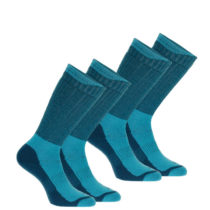 QUECHUA Vysoké Ponožky Sh500