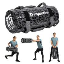 Posilňovací vak s úchopmi inSPORTline Fitbag Camu 25 kg