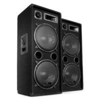 2 x Malone PW-2222 DJ 3-pásmový reproduktor 2 x 30 cm 1000 W