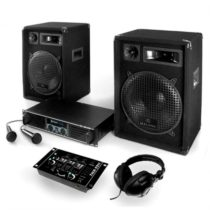 "Electronic-Star Set ""Basstigall"",zesilovač, repro, mikrofon, 1200W"
