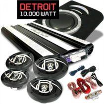 Auna Detroit, auto HiFi set, 4.1 systém, 10 000 W, reproduktory, zosilňovač, subwoofer