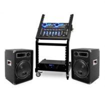 Electronic-Star DJ reproduktorový set Rack Star Neptun Palace 250 ľudí