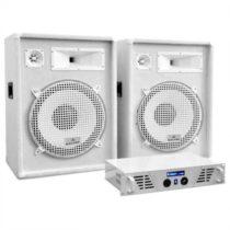 "Electronic-Star DJ PA set ""Arctic Frost"" z ""White Star Series"", 1600 W"