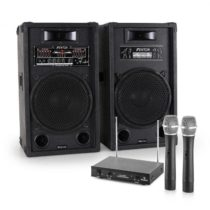 """Electronic-Star Zariadenie """"STAR 12"""", PA reproduktory, bezdrôtový mikrofón"""
