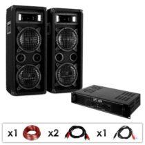 Electronic-Star Ozvučovací set DJ-24, zosilňovač, reproduktory, 1200 W