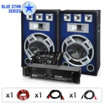"Electronic-Star DJ PA set Blue Star Series ""Beatmix"", 1600 W"