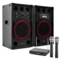 """Electronic-Star Karaoke set """"STAR-Kreuzberg"""" PA reproduktory, bezdrôtový mikrofón,..."""
