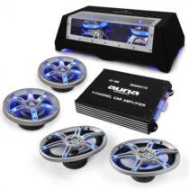 Electronic-Star Hifi set reproduktorov a zosilňovača do auta